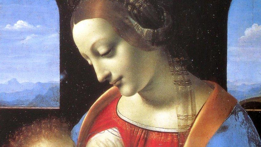 Эрмитаж поместил шедевры Леонардо даВинчи вновые витрины